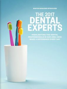 dental magazine feature